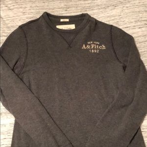 Abercrombie and Fitch waffle long sleeve shirt
